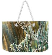 Whisper Weekender Tote Bag by Karina Llergo