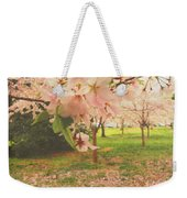 Whispering Cherry Blossoms Weekender Tote Bag
