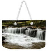 Whispering Waterfall Landscape Weekender Tote Bag