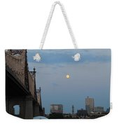 Whispy Clouds And A Moon Weekender Tote Bag