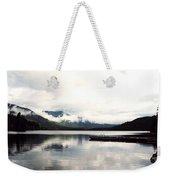 Whistler Lake Bc Weekender Tote Bag