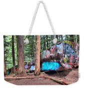 Whistler Train Wreckage Among The Trees Weekender Tote Bag