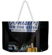 Whistles On The Water Weekender Tote Bag