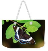 White Admiral Butterfly Weekender Tote Bag