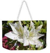 White Azaleas Weekender Tote Bag
