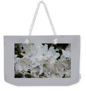 White Azaleas In Bermuda Weekender Tote Bag
