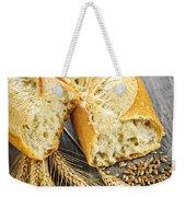 White Baguette Weekender Tote Bag by Elena Elisseeva