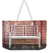 White Bench Weekender Tote Bag