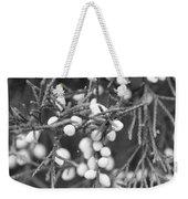 White Berries Weekender Tote Bag