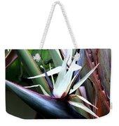 White Bird Of Paradise Weekender Tote Bag