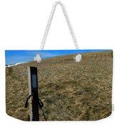 Appalachian Trail White Blaze Post Weekender Tote Bag