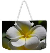 White Bloom Weekender Tote Bag