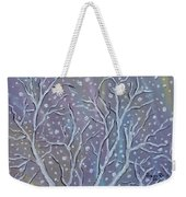 White Branches Weekender Tote Bag