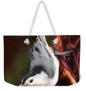 White-breasted Nuthatch - Classic Pose Weekender Tote Bag