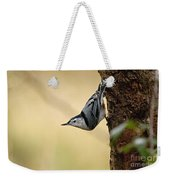 White-breasted Nuthatch Pictures 46 Weekender Tote Bag