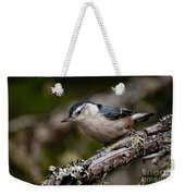 White-breasted Nuthatch Pictures 47 Weekender Tote Bag