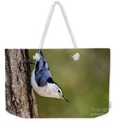 White-breasted Nuthatch Pictures 52 Weekender Tote Bag