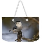 White-breasted Nuthatch Pictures 60 Weekender Tote Bag