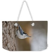 White-breasted Nuthatch Pictures 88 Weekender Tote Bag