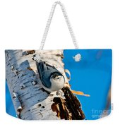 White-breasted Nuthatch Pictures 95 Weekender Tote Bag