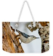 White-breasted Nuthatch Pictures 97 Weekender Tote Bag