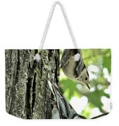 White Breasted Nuthatches Weekender Tote Bag