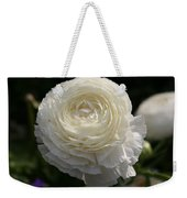 White Buttercup - Ranunculus Weekender Tote Bag