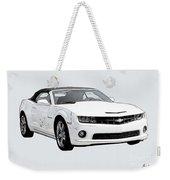 White Camaro Weekender Tote Bag