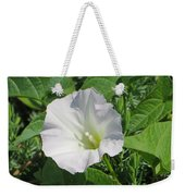 White Candour Weekender Tote Bag