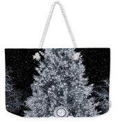 White Christmas In Texas Weekender Tote Bag