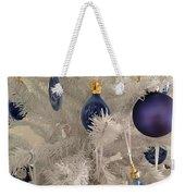 White Christmas Tree Weekender Tote Bag