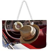 White Classic Mercedes Benz 230 Sl Weekender Tote Bag