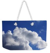 White Clouds Art Prints Blue Sky Weekender Tote Bag