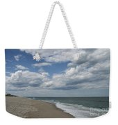 White Clouds Over The Ocean Weekender Tote Bag