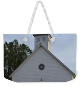 White Country Church Series Photo A Weekender Tote Bag