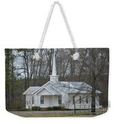 White Country Church Series Photo B Weekender Tote Bag