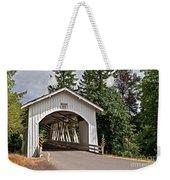 White Covered Bridge Hannah Bridge Art Prints Weekender Tote Bag