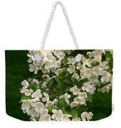 White Crabapple Weekender Tote Bag