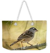 White-crowned Sparrow Pictures 63 Weekender Tote Bag