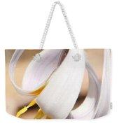 White Dog Tooth Violet Weekender Tote Bag