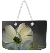 White Dogwood Blooms Series Photo K Weekender Tote Bag