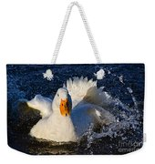 White Duck 1 Weekender Tote Bag