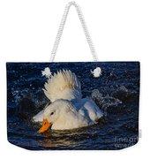 White Duck 3 Weekender Tote Bag