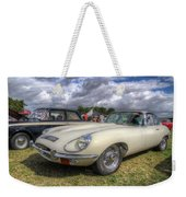 White E-type Weekender Tote Bag