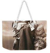 White Eagle Ponca Chief Weekender Tote Bag