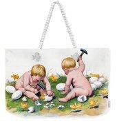 White Eggs Weekender Tote Bag