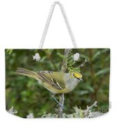 White-eyed Vireo Weekender Tote Bag