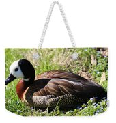 White-faced Whistling Duck Weekender Tote Bag