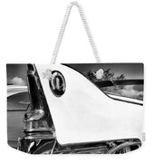 White Fin Bw Palm Springs Weekender Tote Bag