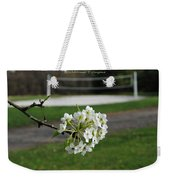 White Florescence Weekender Tote Bag